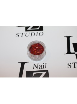 Блестки для ногтей 07 1мм